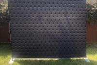Black Spots Backdrop