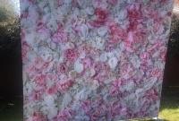 Pink Flowers Backdrop