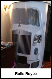 Rolls Royce Booth
