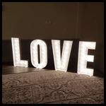 3ft LOVE Letter Lights 1